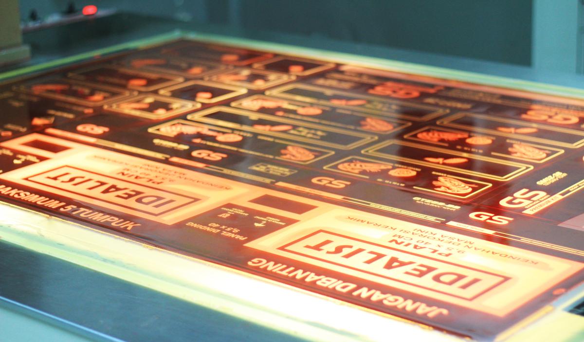 Liquid Photopolymer Plate